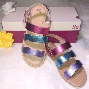 Kid's Grayce Rainbow Sandal.